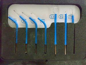 الکترودهای قلم تک قطبی-در الکتروکوتر-مدرسه مهندسی پزشکی