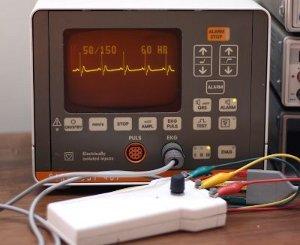 ساخت شبیه ساز ECG -