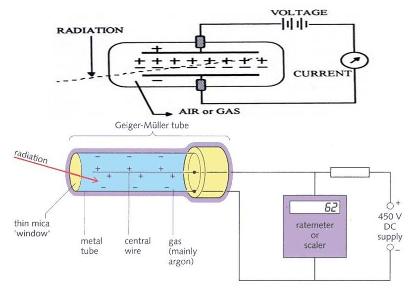 شکل اجزاء درونی آشکارساز گایگر مولر-پزشکی هسته ای-مهندسی پزشکی-مدرسه مهندسی پزشکی-www.iranianbme.com